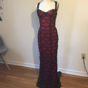 Lip Service evening gown